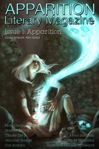 Issue 1 Ghost Thief cover Apparition Literary Magazine